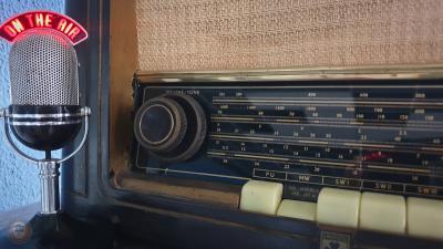 Ραδιόφωνο με λυχνίες.